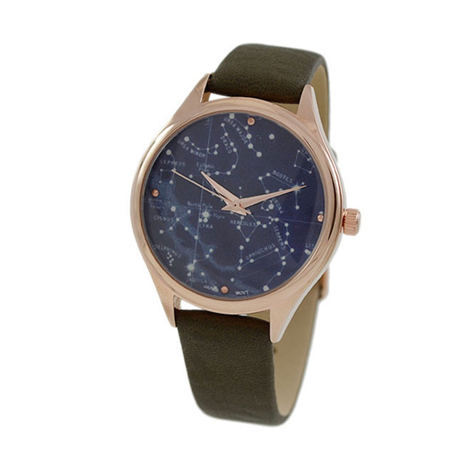 Women's 34mm Blue dial with rose gold Border