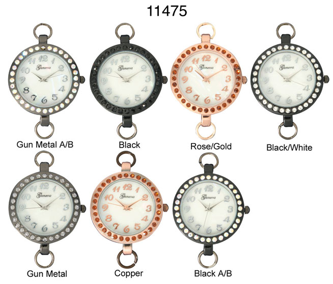 Geneva 32mm Round watch Face Dial