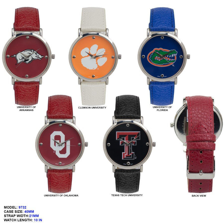 New Fancy university Watch with Beautiful Printed Dial