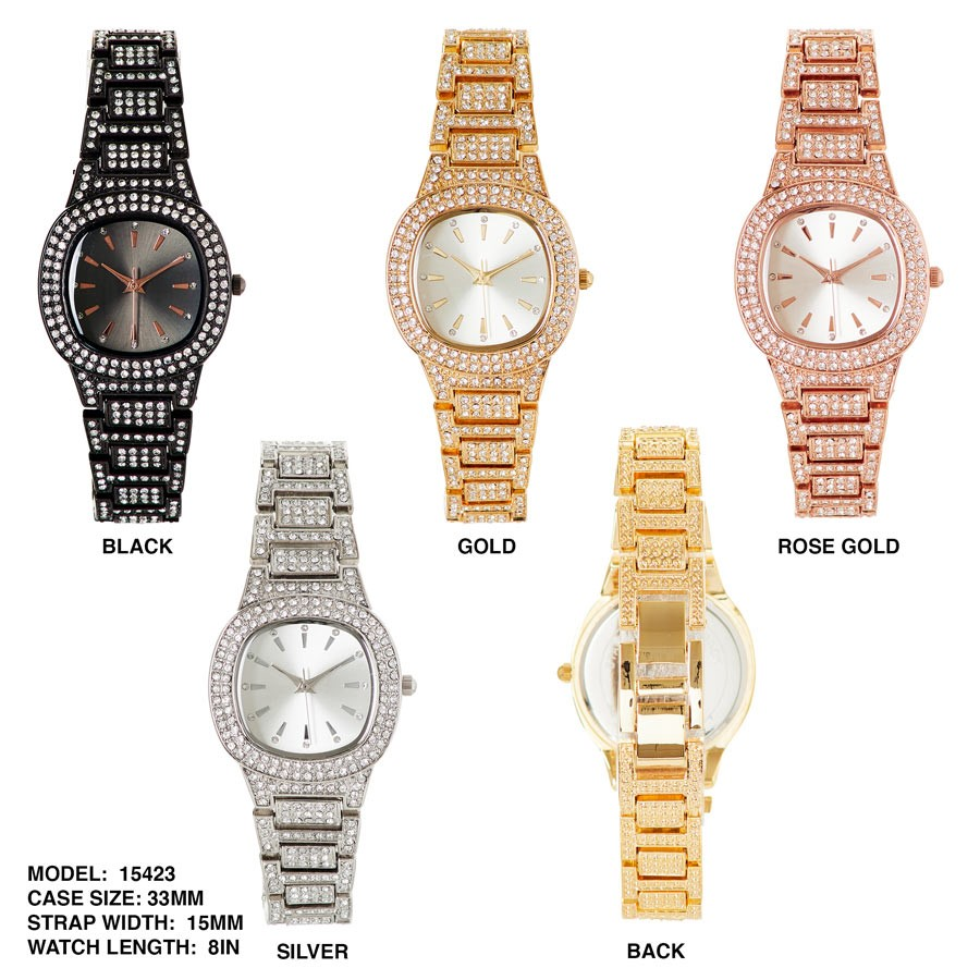 NEW Women's 33mm Dial with Stainless steal Band