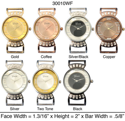 Women's 34mm Fancy Interchangeable Bracelet Watch