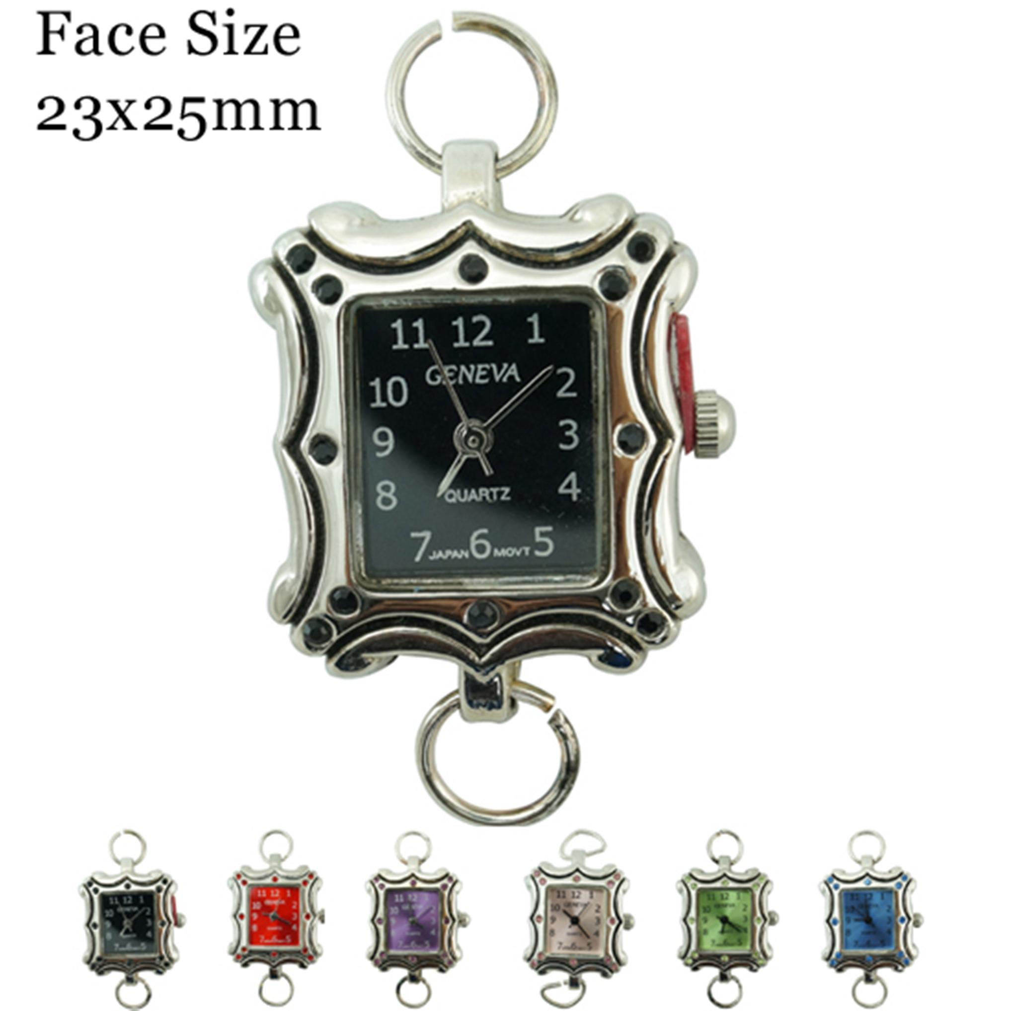Women's CZ  Fancy 25 mm Dial Face
