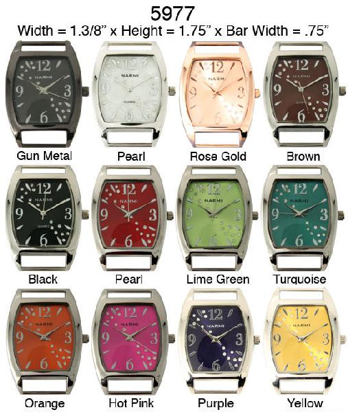 Women's 34mm solid Bar watch Faces