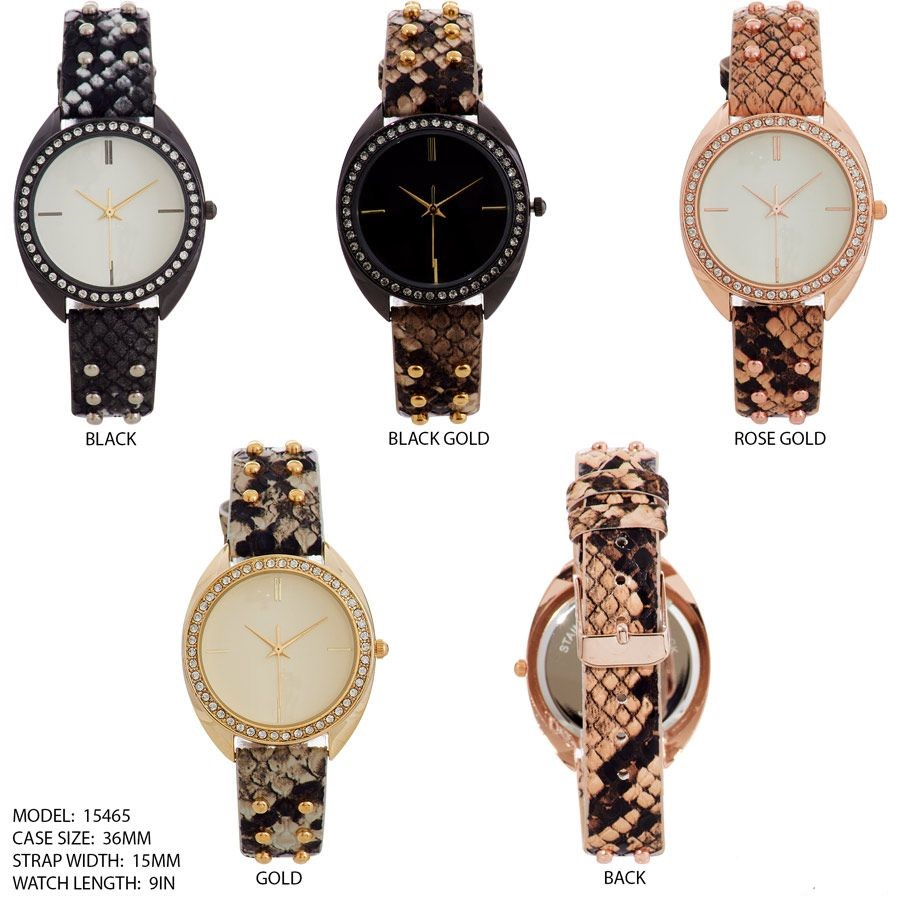 New Women's 36mm Beading Face watch