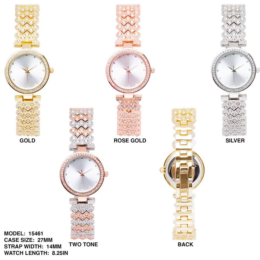 NEW Women's 27mm Round CZ Dial watch