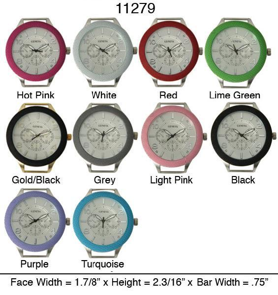 New Solid Bar Watch Face for interchangeable bracelet Watch