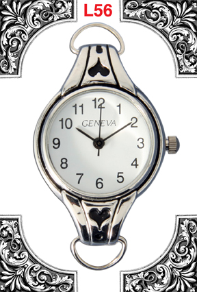 Geneva 22mm Round Fancy Dial Face