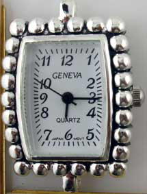 Geneva 24mm Square Fancy dial Face