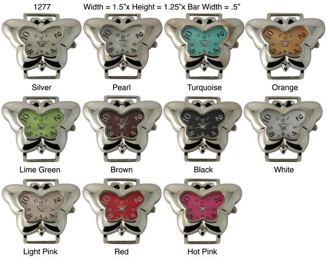 Geneva Butterfly Shape Fancy Watch Face
