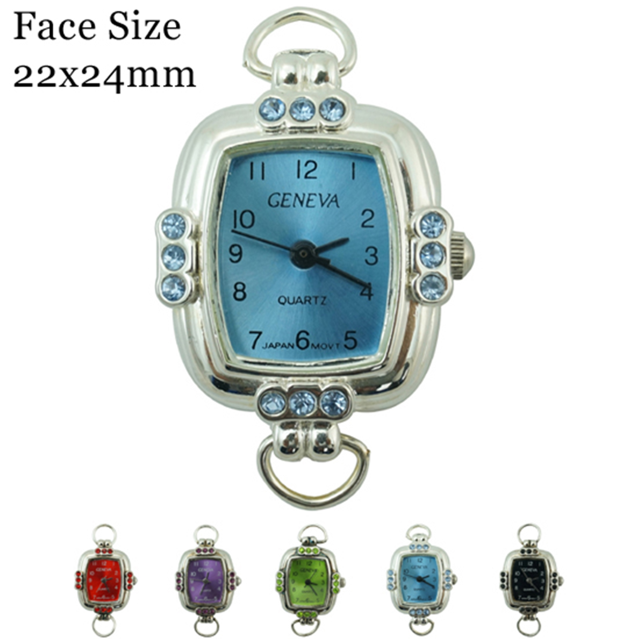 Women's CZ 24 mm Dial with fancy Style face