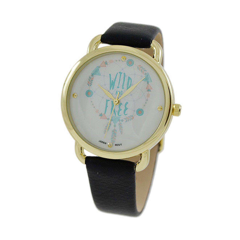 Women's 36mm Round CZ  Dial Watch
