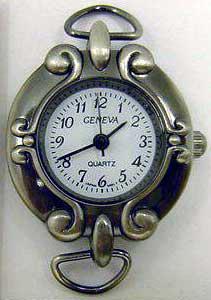 Geneva Antique Silver Watch Faces