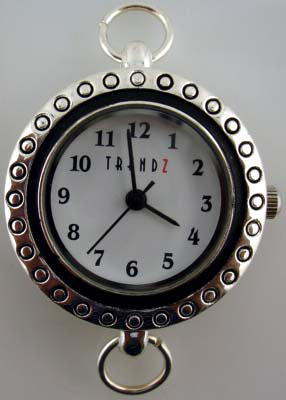 Geneva 22mm round dial with black Border Face