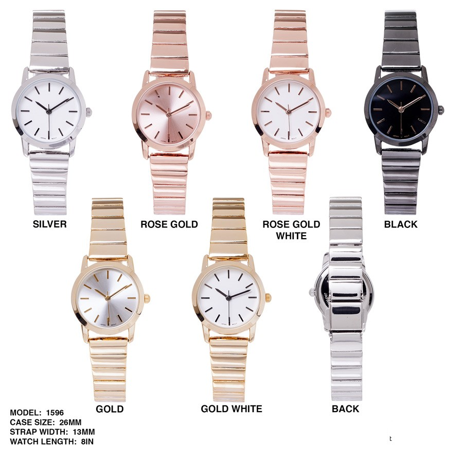 NEW Women's 26mm Dial with Stainless Steal Band
