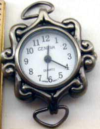 Antique Silver Watch Faces