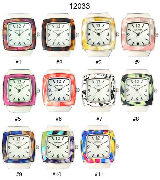 New Women's Geneva 22mm Square Watch Face