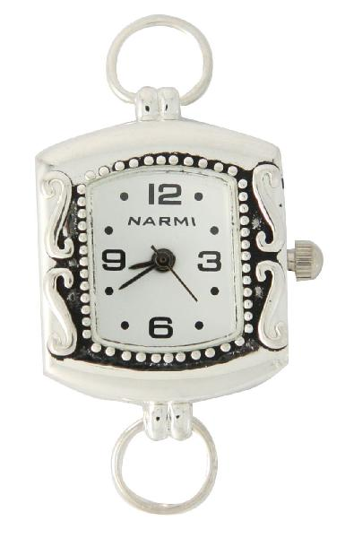 Geneva 22 mm Square White color Beautiful Dial