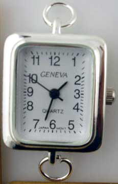 Geneva 24mm Square Shape Fancy Face