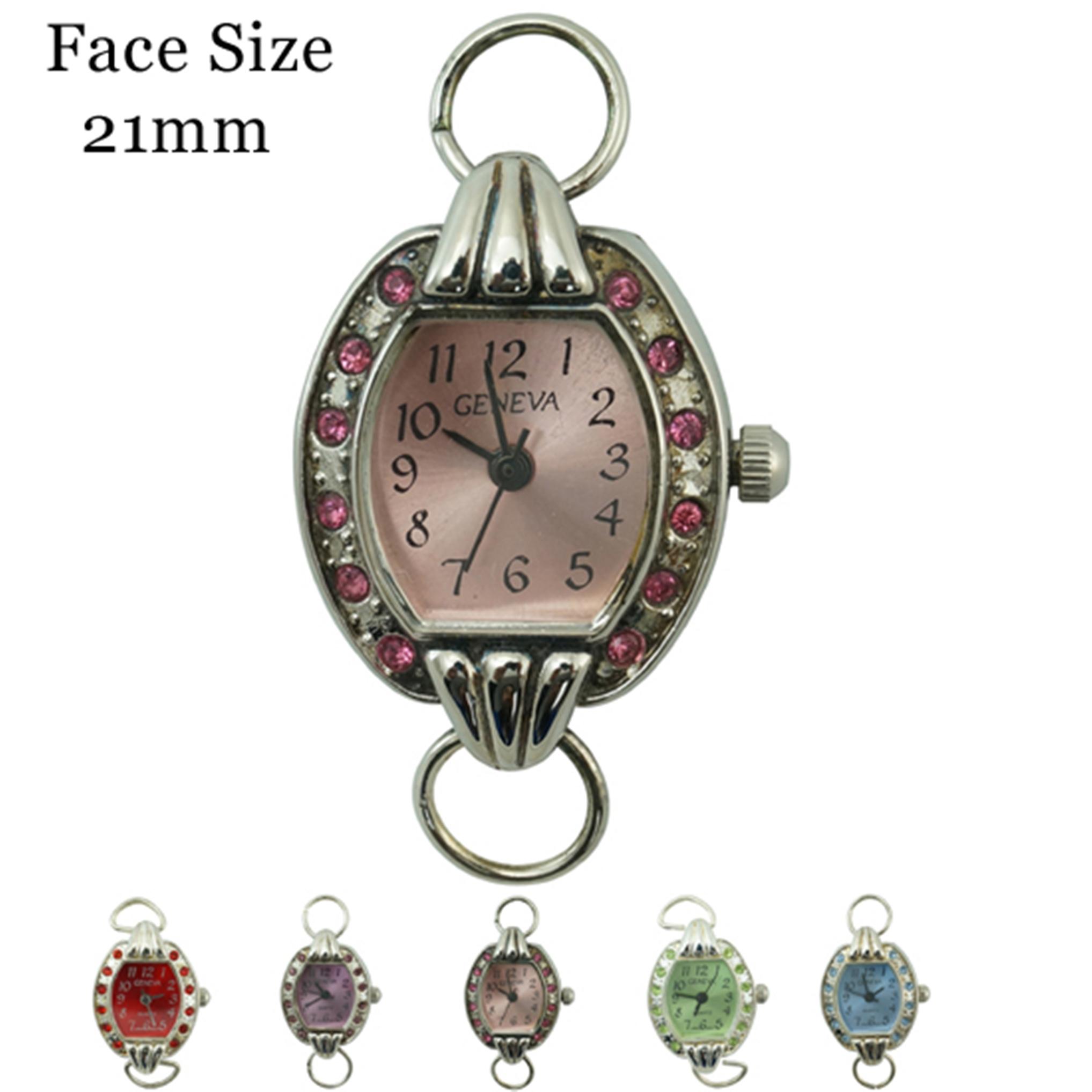 Women's 21 mm CZ Fancy Dial Face