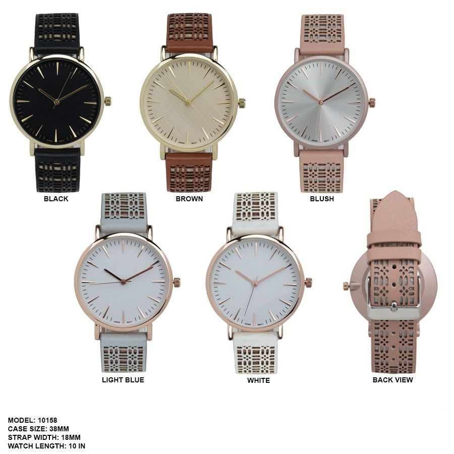 Women's 38mm Round Dial with Fancy Strap  Band