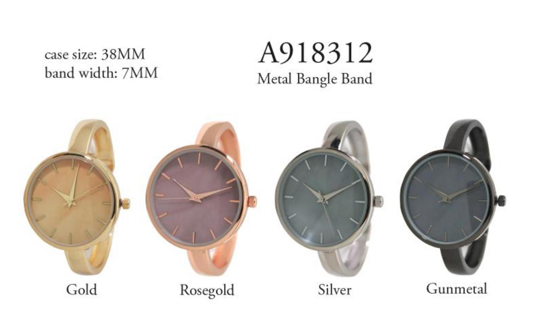 Women's Fancy Big Dial Cuff Style Watch
