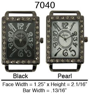 Geneva 30mm Square watch Face Dial