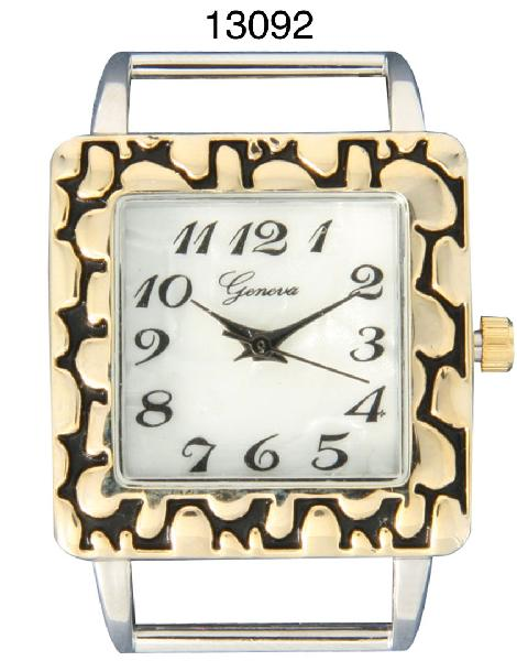 Geneva 26mm Square Solid Bar Watch Faces