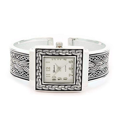 Ewatchwholsale-Women's Square Bangle Watch
