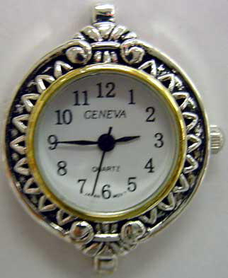Geneva 24mm Two tone beading watch faces