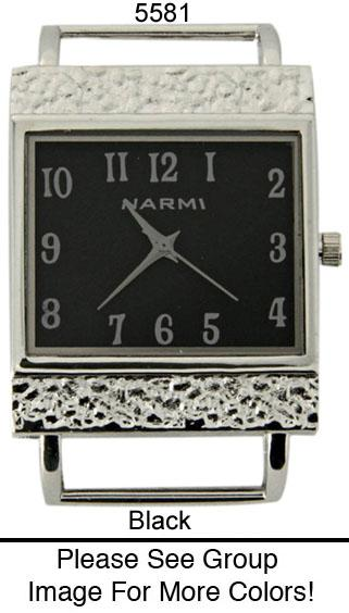 Narmi 34mm Dial with stainless Steal Border Watch Face
