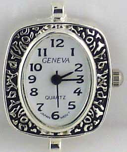 Geneva 22mm Oval shape big hole watch Face