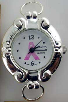 Watch Faces with Breast Cancer Logo
