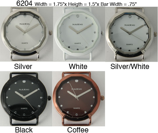 Women's 36mm Round Interchangeable Bracelet Watch