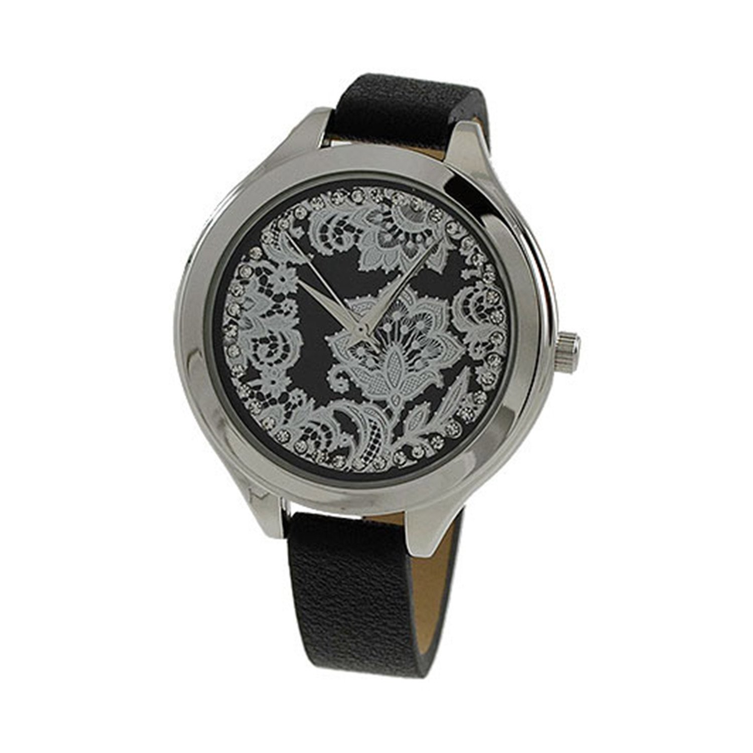 Women's 38mm Stylish Dial with leather Strap Band