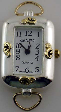 Geneva 24mm Two tone with Loop Watch Face