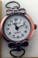 Geneva 22 mm  Antique Copper Watch Faces
