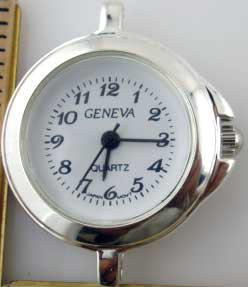 Geneva Round Beautiful Dial watch Face