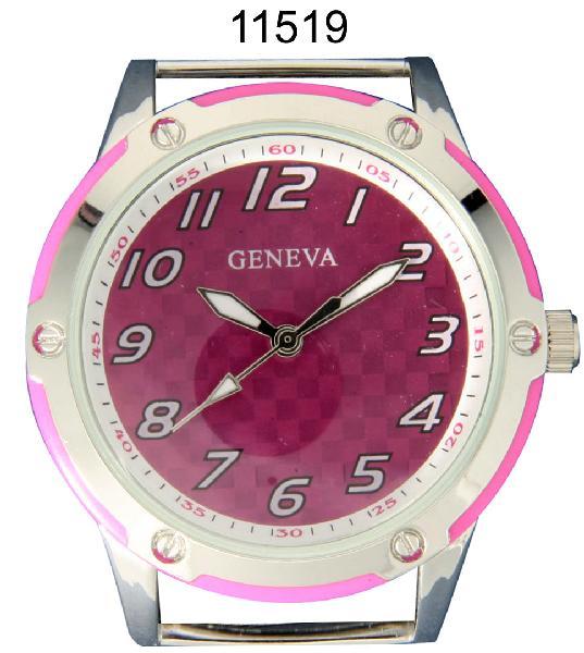 Geneva 24mm Round Solid Bar watch Face