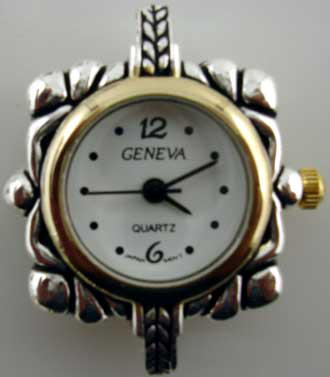 Geneva Two Tone big hole watch face