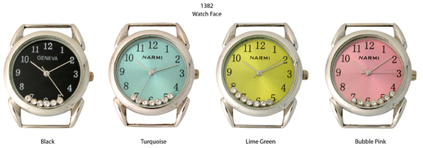 Narmi 26mm Round Solid Bar watch Face