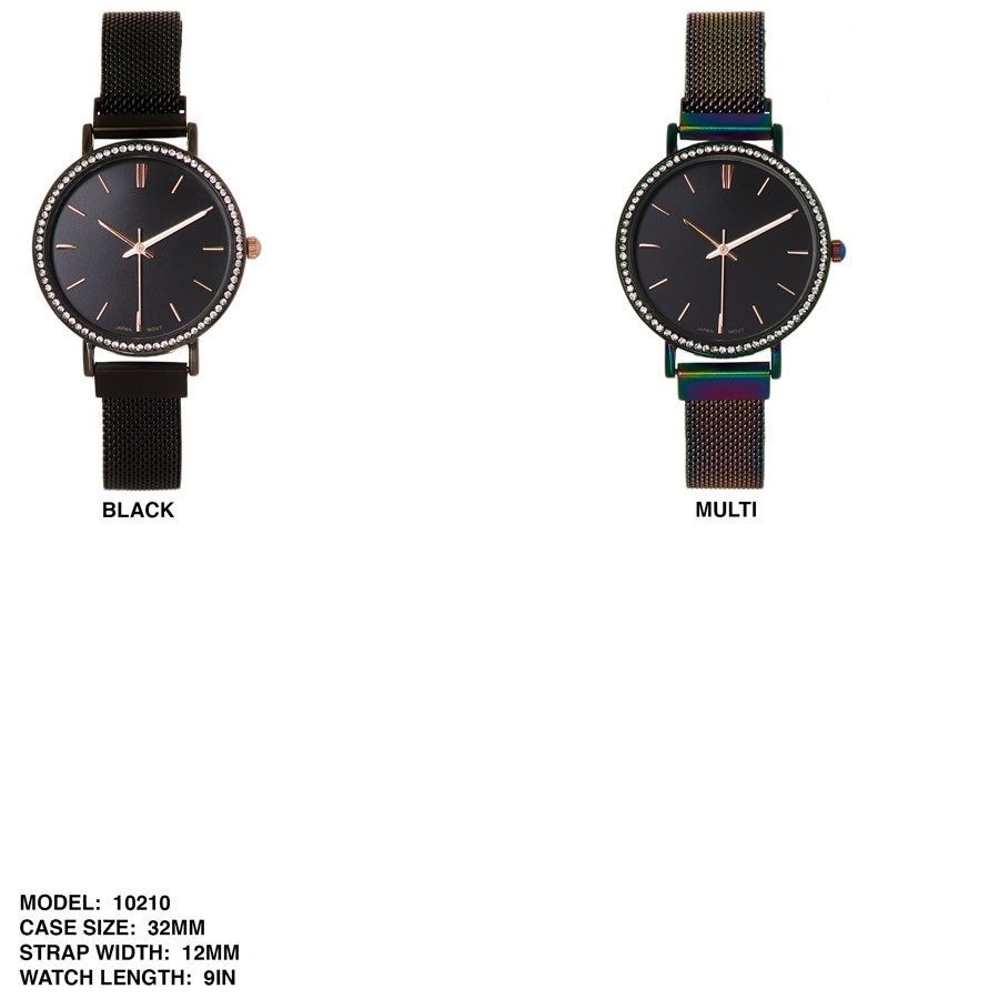Women's 32mm Fancy Dial With Mesh Strap Band