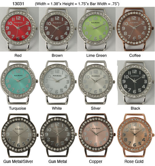 Women's 32mm Round Interchangeable Bracelet Watch