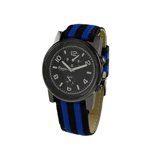 Men's Strap watch with 28mm big Number Dial