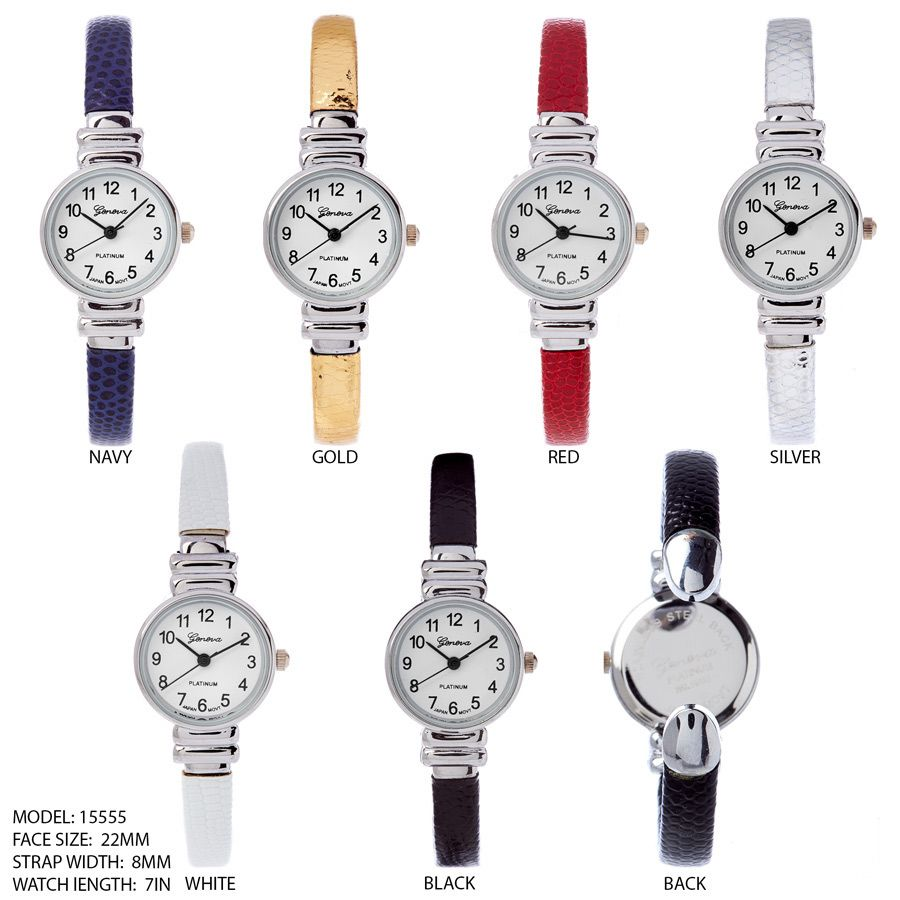 Ewachwholsale-Women's 34mm Round Dial with Bangle style watch