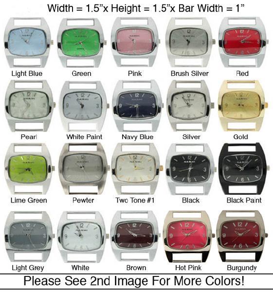 Womens's Geneva Solid Bar Watch Face