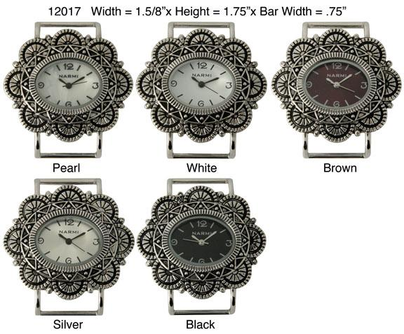 Ewatchwholsale-Women's 34mm oval Fancy Solid Bar Watch Face