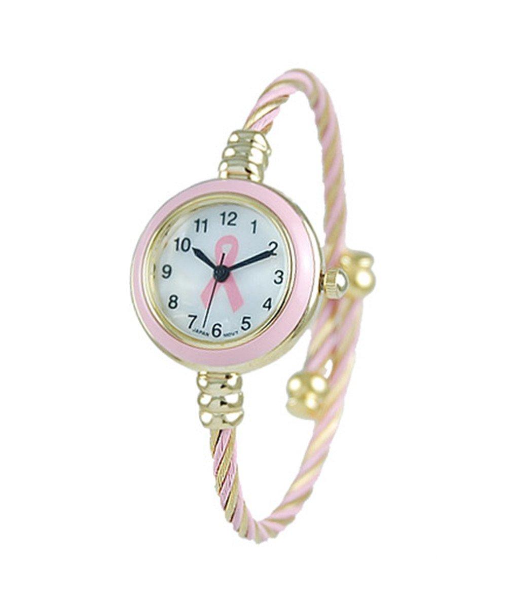 Women's CZ 22mm Fancy Dial Watch