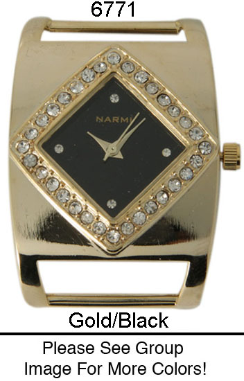 Narmi 20mm Solid Bar watch Face