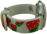 Strawberry Children Watch - White