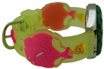 Princess Style Children Watch - Clear Green